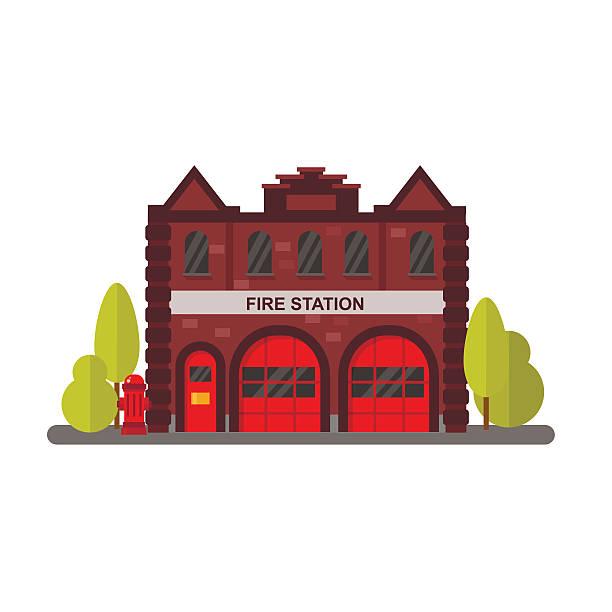 Best Firehouse Illustrations, Royalty.