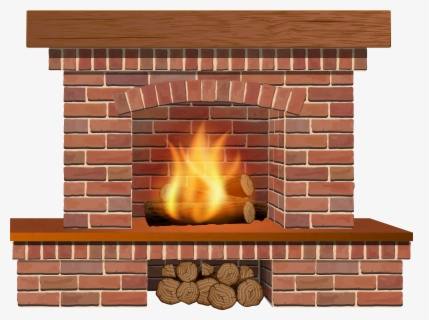 Free Fireplace Clip Art with No Background.