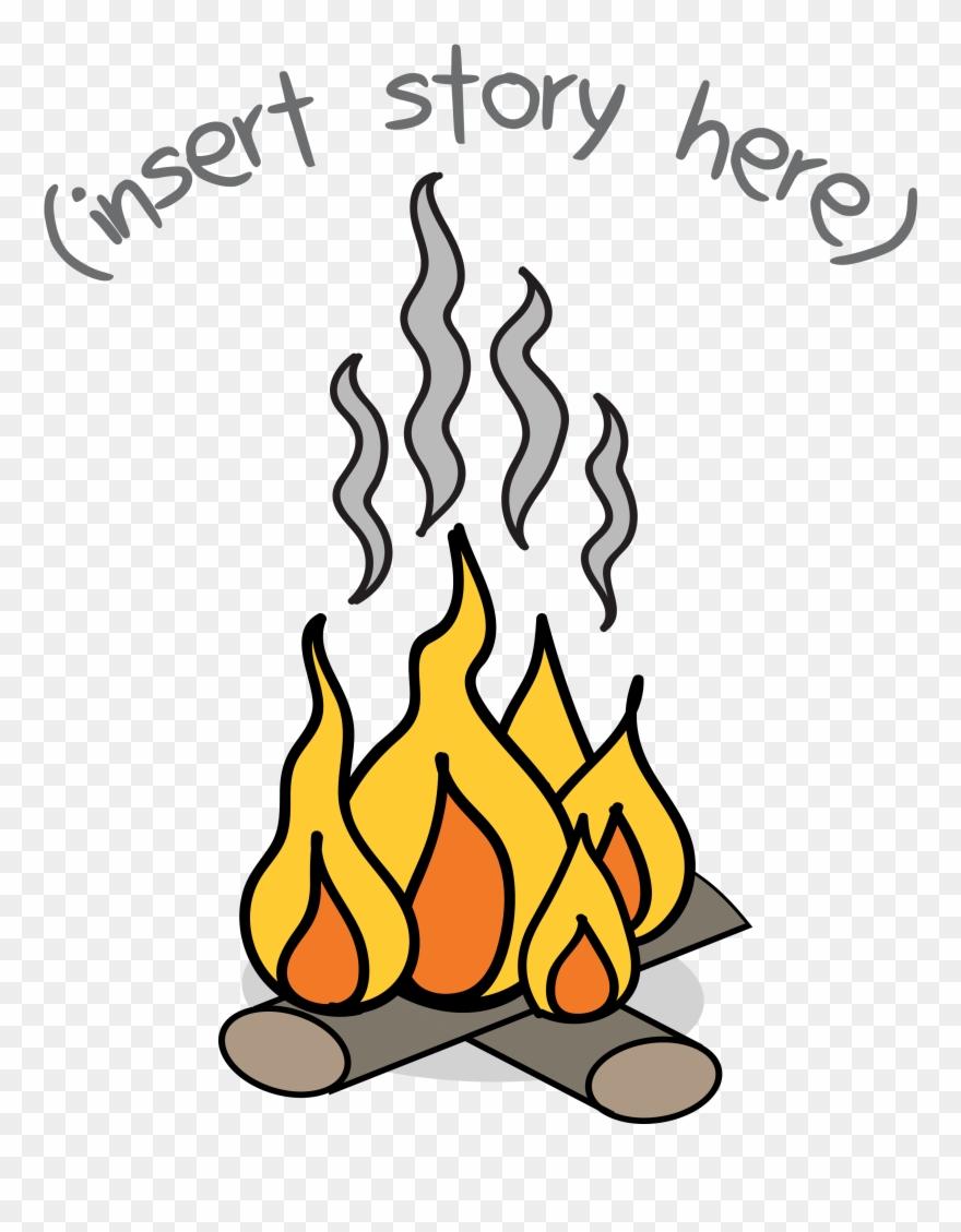 Kids Fireside Clipart (#830314).