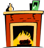 Fireside Chat Clipart.