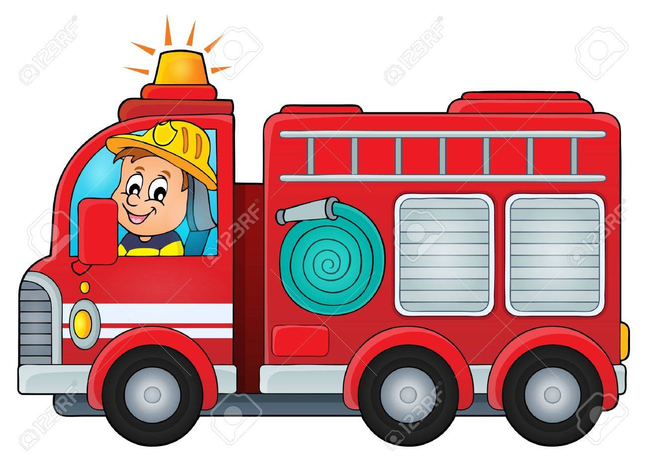 Clipart Of Fire Truck.