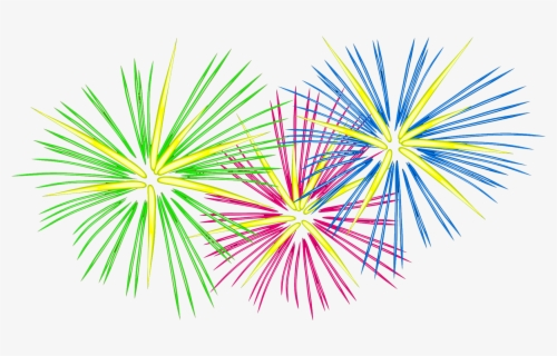 Free Firework Clip Art with No Background.