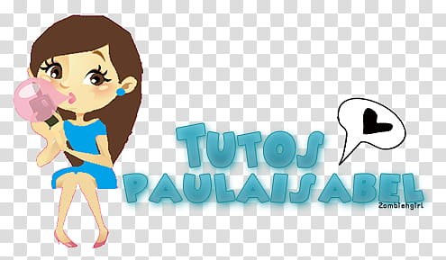 Firma Tutos Paula Isabel transparent background PNG clipart.
