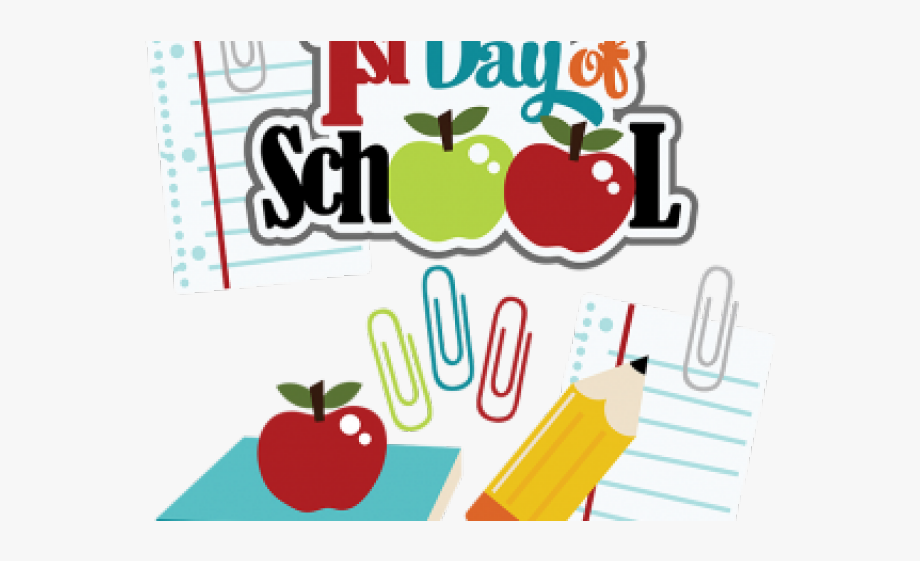 School Clipart Clipart First Day School.