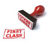 Clip Art of First Class on an Airplane u18142682.