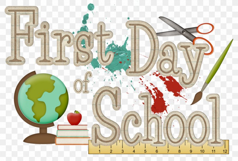 First Day Of School Drawing Clip Art, PNG, 1239x838px.
