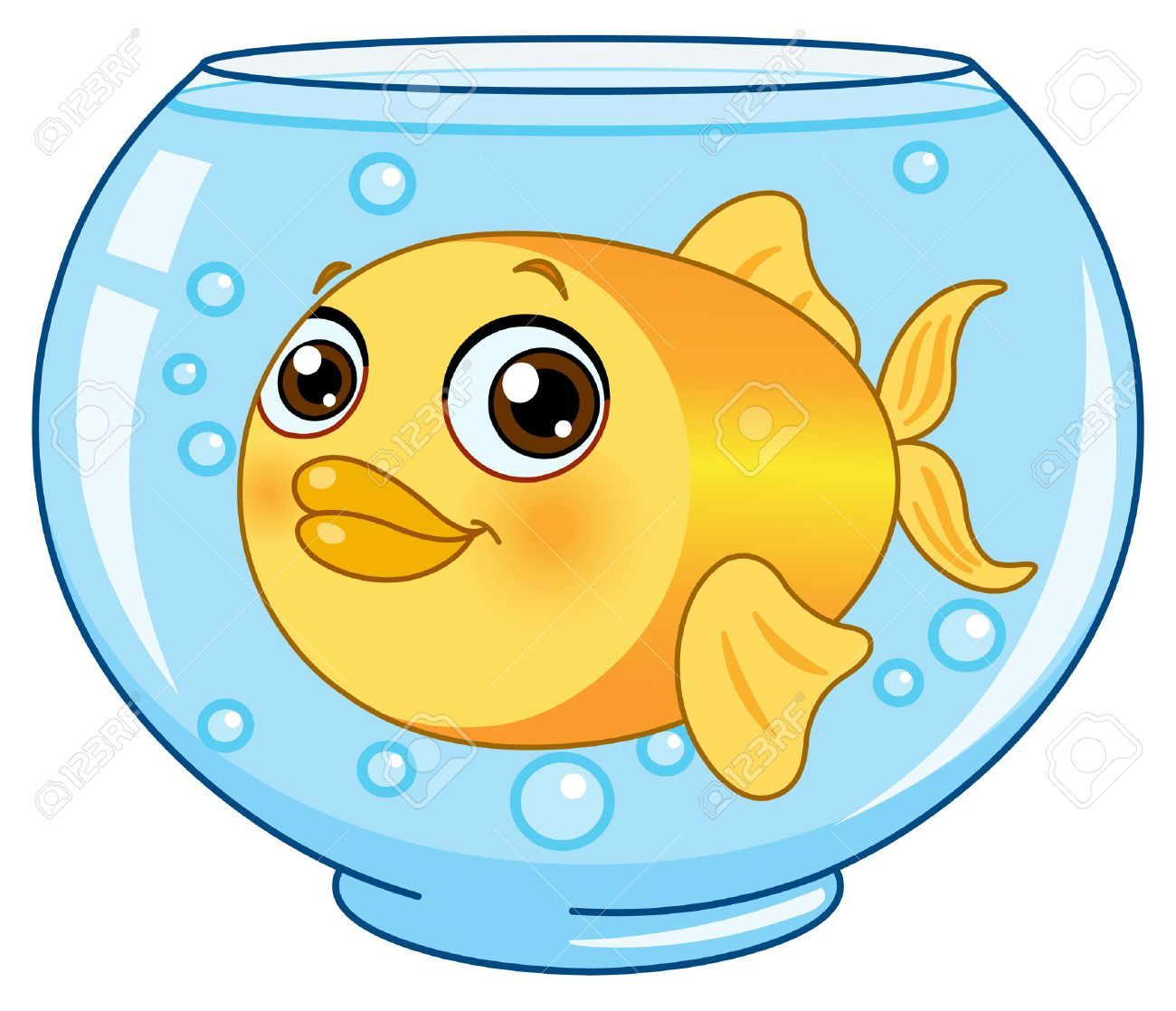 Fish in bowl clipart 5 » Clipart Portal.