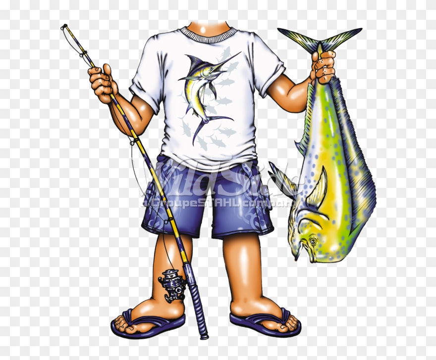 Fisher Boy With Fish.