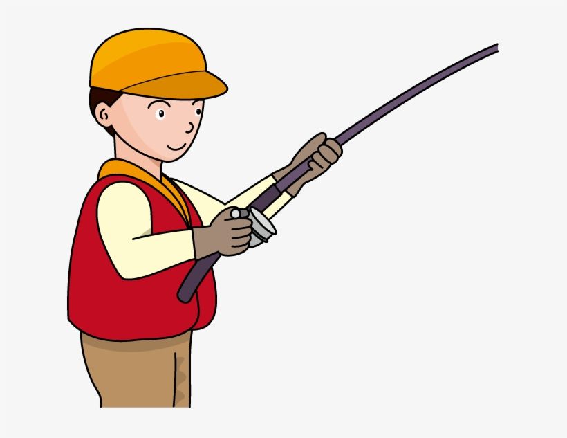 Fishing Pole Fishing Rod And Reel Clipart Kid Image.