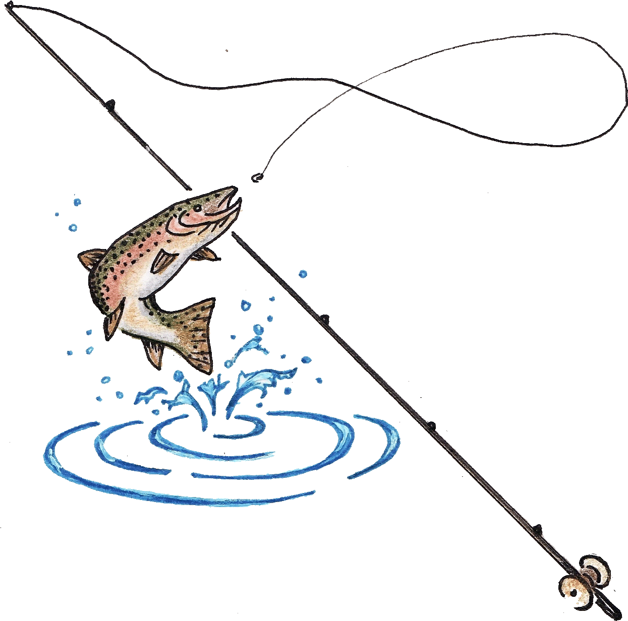 Fishing Pole Clipart Fishing Tool.