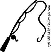 Fishing Rod Clip Art.