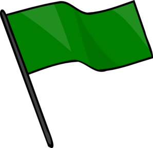 Green Flag Clip Art at Clker.com.