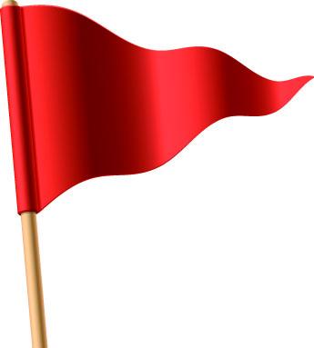 67+ Red Flag Clip Art.