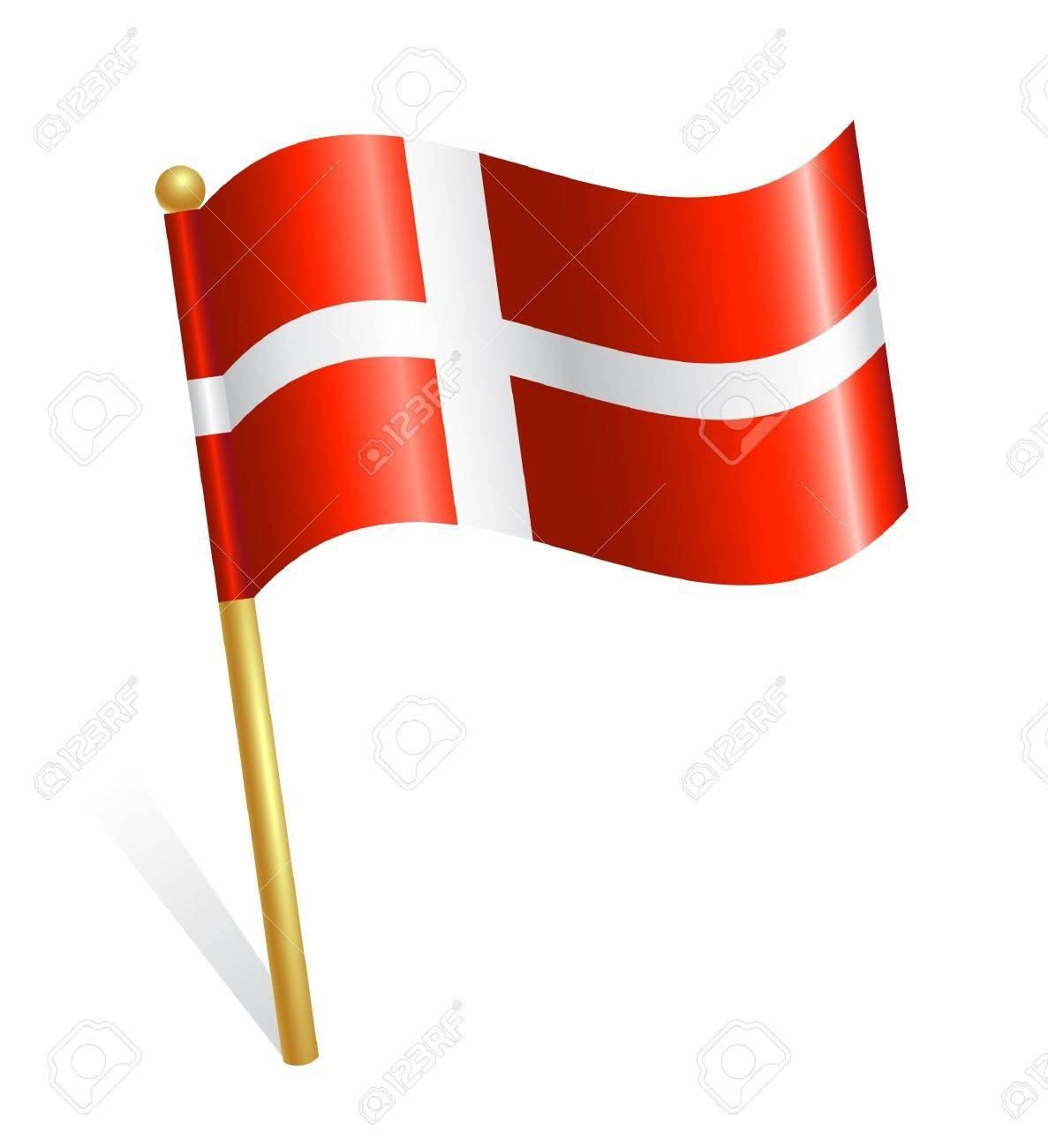 Danmark Country flag.