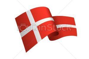 Clipart flag danmark 1 » Clipart Portal.