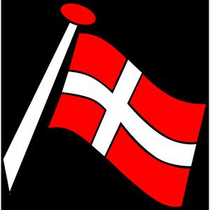 Det Danske Flag Clipart.