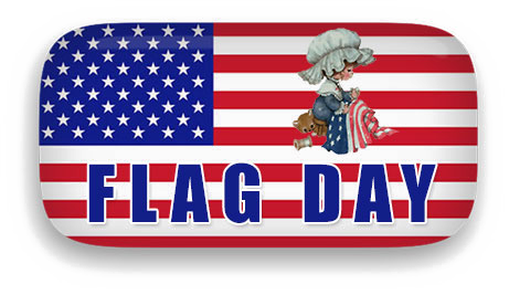 Flag Day PNG Clipart.