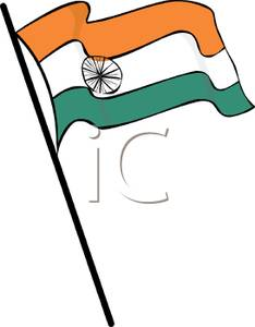 Clipart Of Indian Flag.