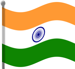 Indian Flag Clipart.