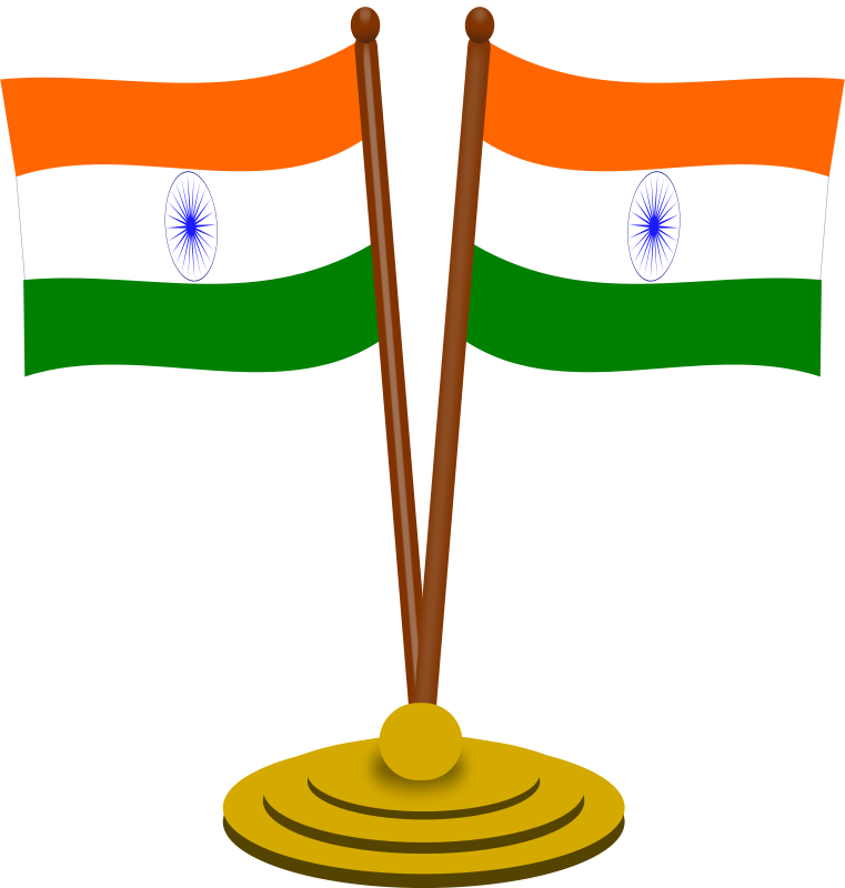 Free Clipart: Indian flag 2.