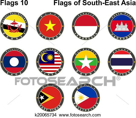 Flags of South.
