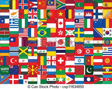 Flags world Clipart Vector and Illustration. 121,453 Flags world.