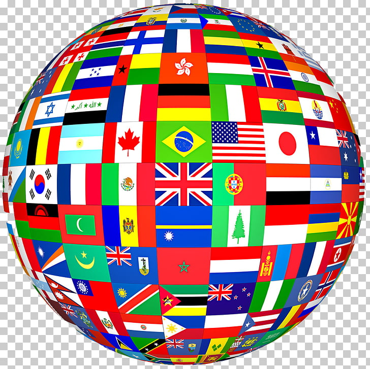 Flags of the World Globe World Flag, country, round world.