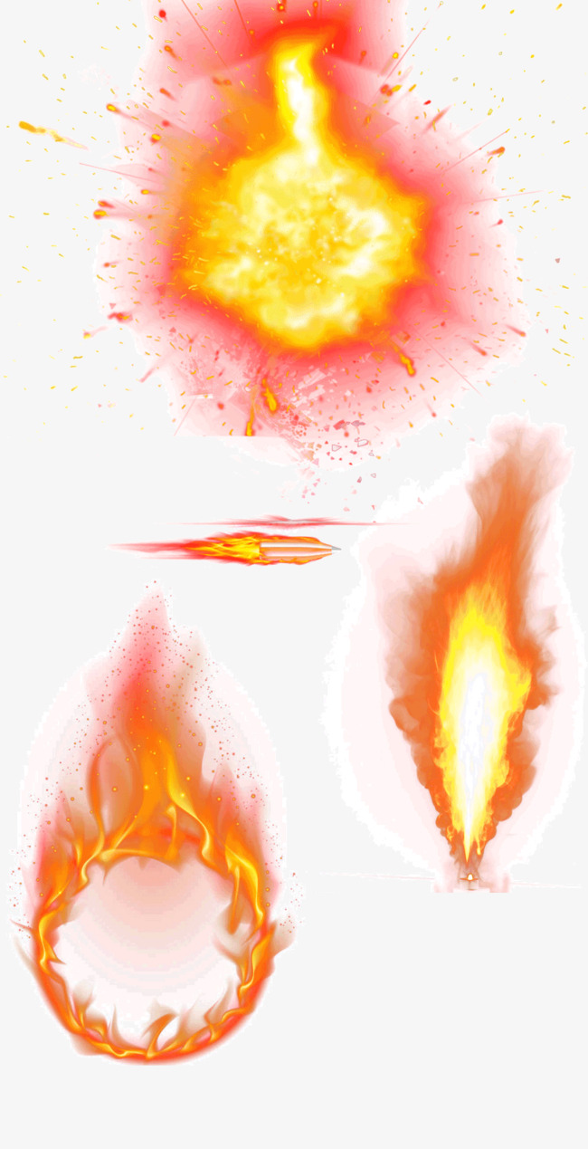 Decorative Flame, Flame Clipart, Flame, Firework PNG Image and.