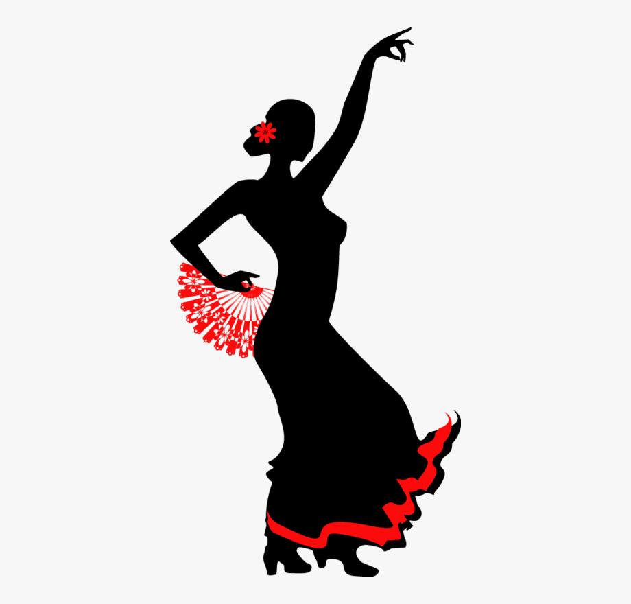 Flamenco Dancer Clipart , Transparent Cartoon, Free Cliparts.