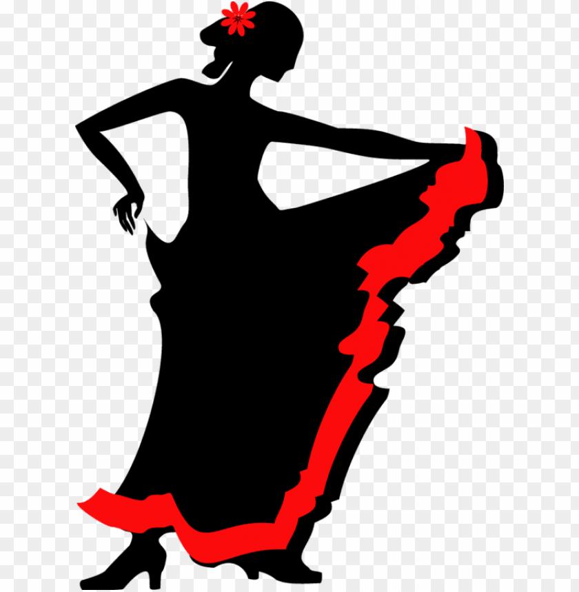 flamenco dance silhouette clip art.
