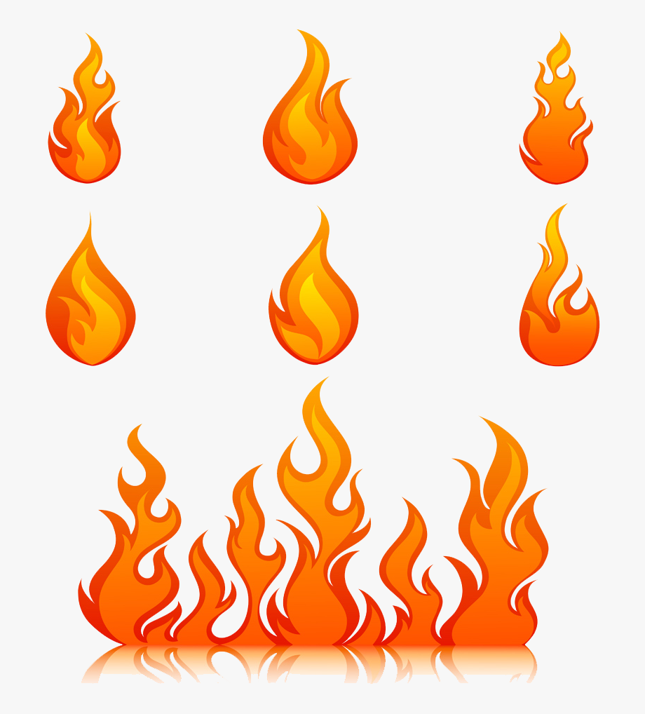 Clipart Flames Royalty Free.