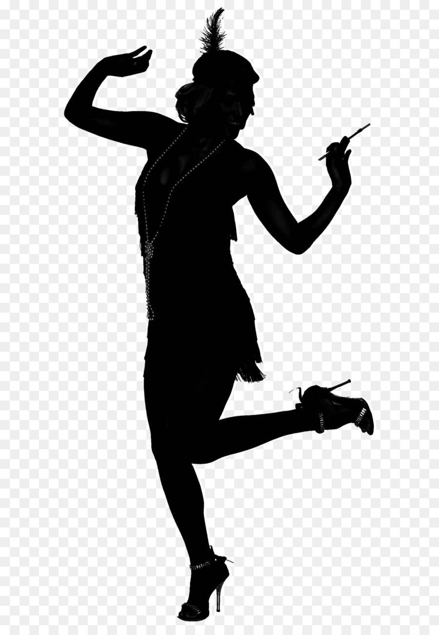 Dancer Silhouettetransparent png image & clipart free download.