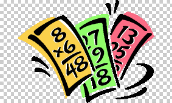 Multiplication Mathematics Flashcard , Flashcards s PNG.