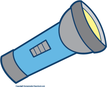 Download High Quality flashlight clipart blue Transparent.