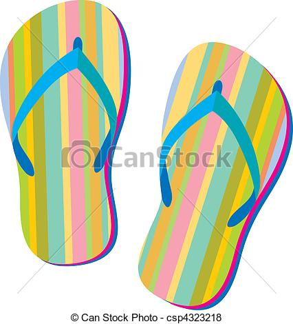 Summer sandals.