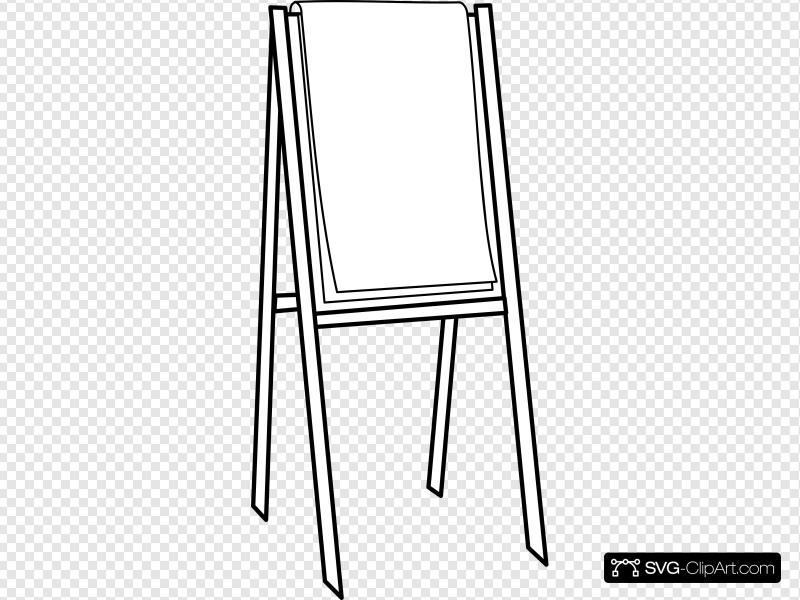 Flipchart Clip art, Icon and SVG.