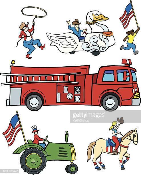11 Parade Float Stock Illustrations, Clip art, Cartoons & Icons.