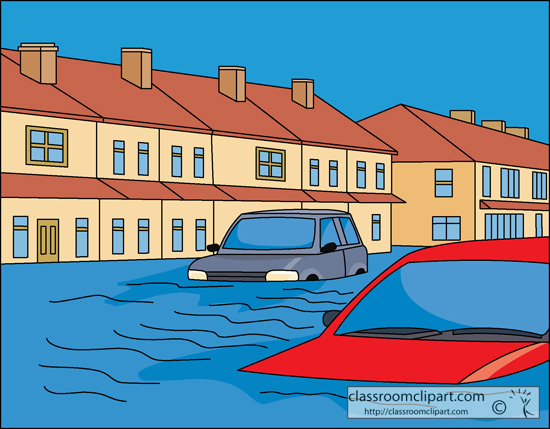 Clipart Of Flood.