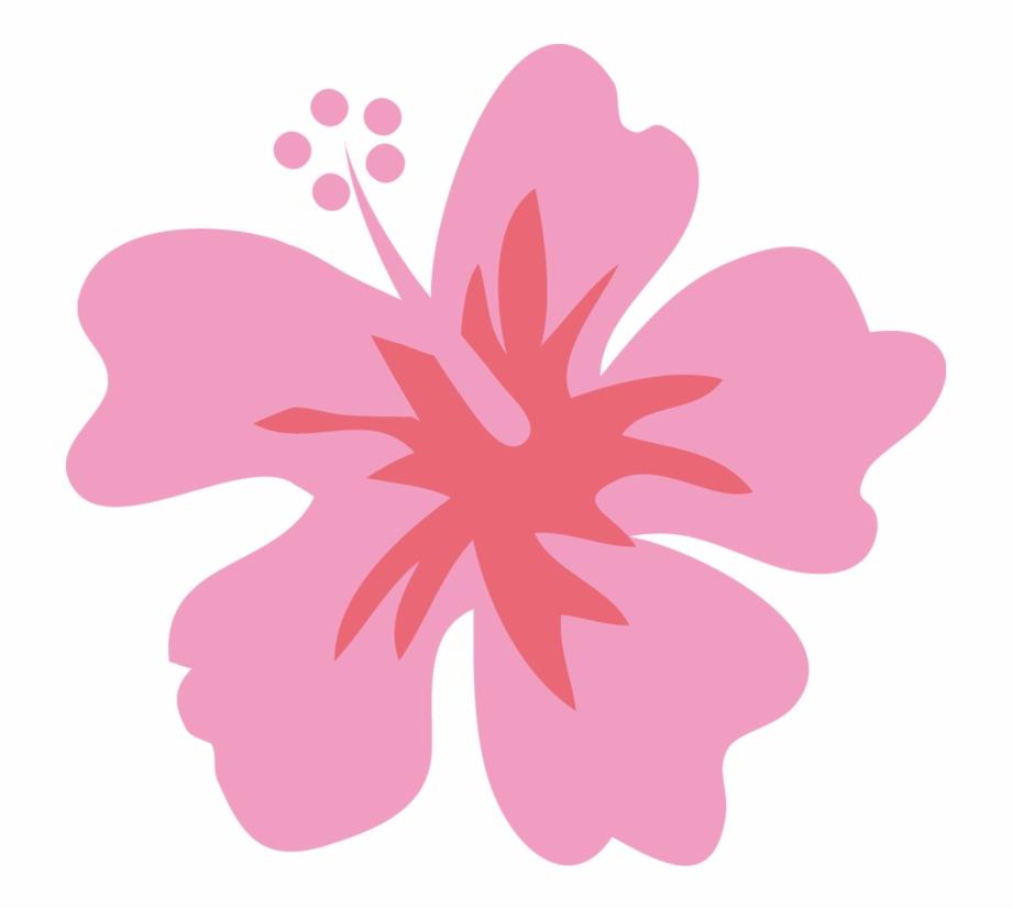 Luau Clipart Flower Hawaiin.