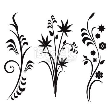 Clipart Design Flowers.