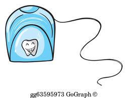 Dental Floss Clip Art.