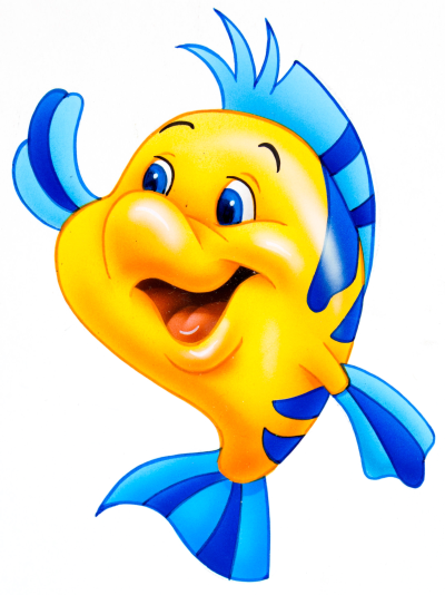 Flounder Clipart PNG.