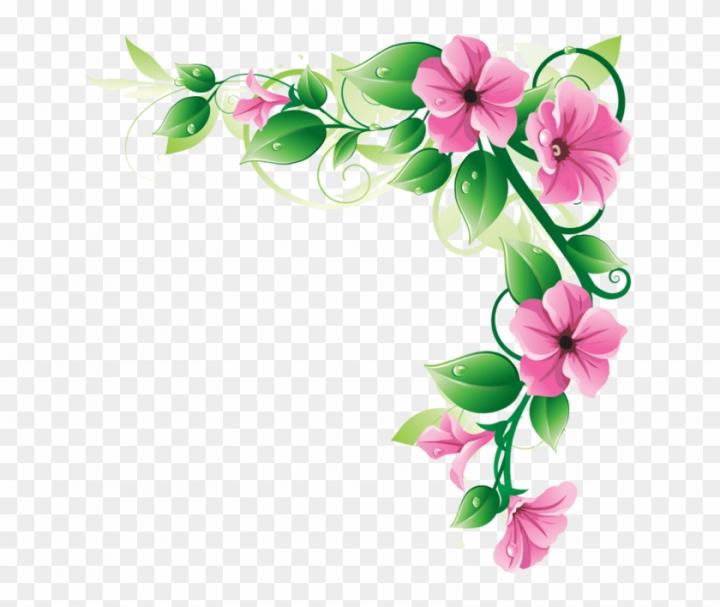 Free Clipart Flower Borders.