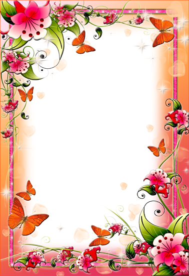 clipart flower borders and frames #19