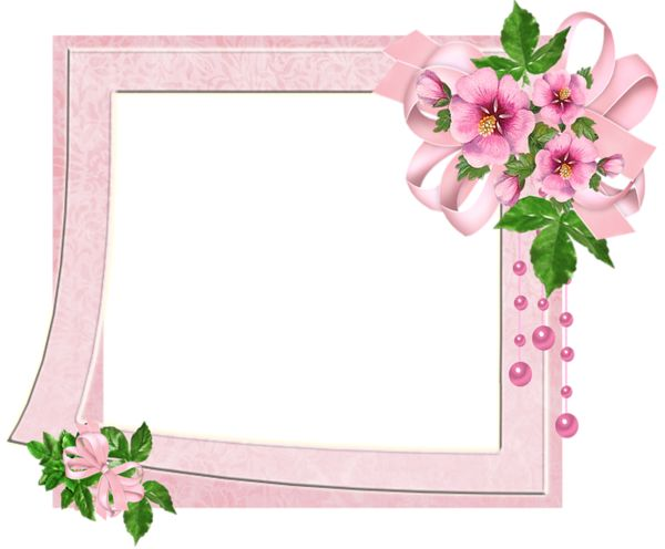 clipart flower borders and frames #1