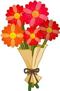 Vase Of Flowers Clip Art.