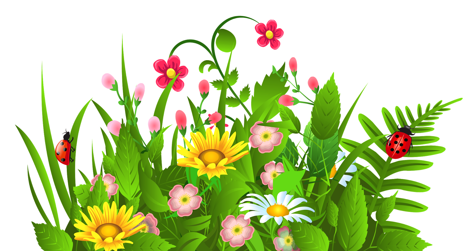 Flower garden clipart 8.