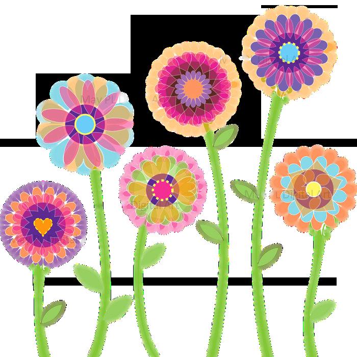 Floral clip art images free download.