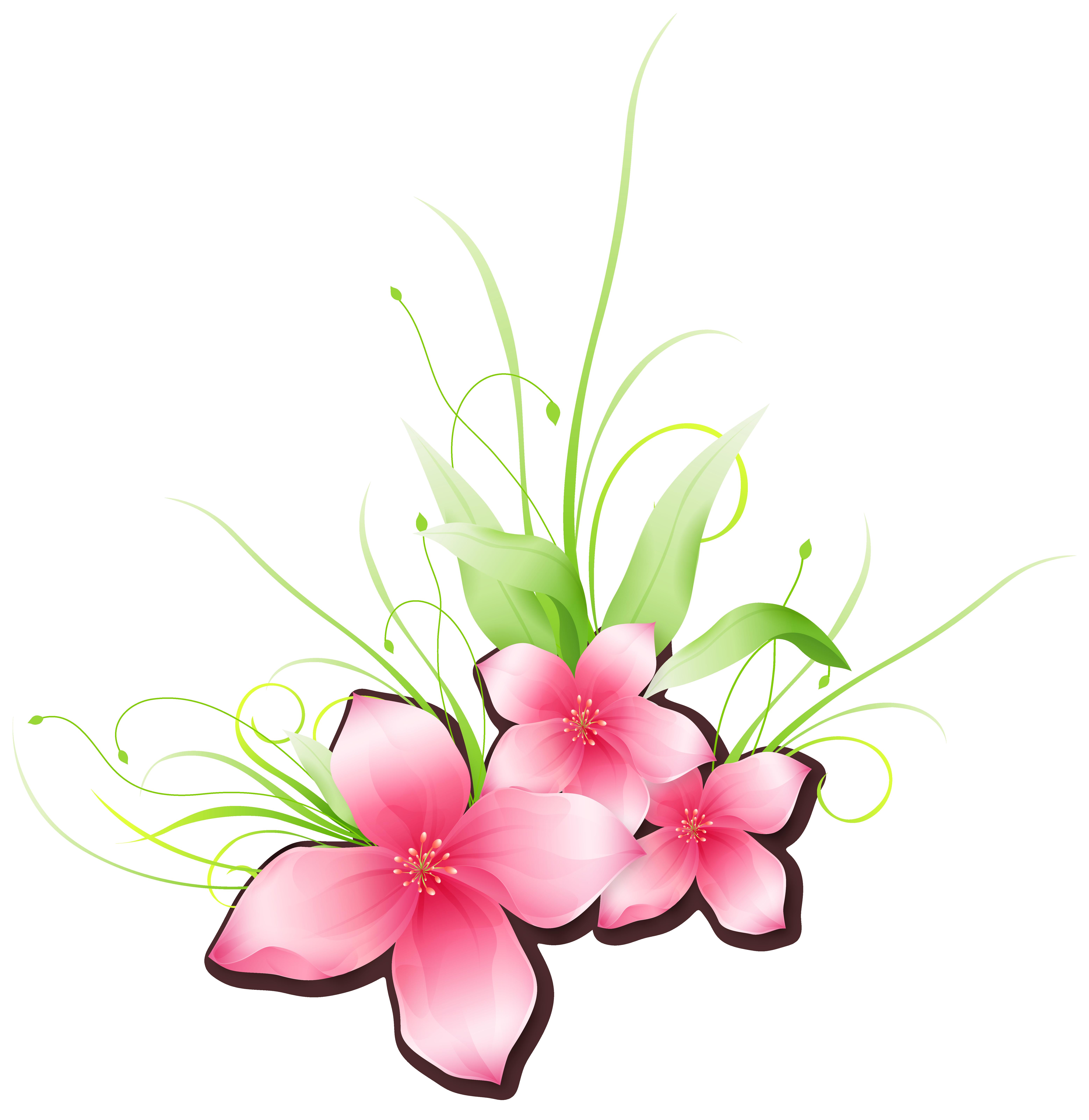 Pink Flower PNG Clip.