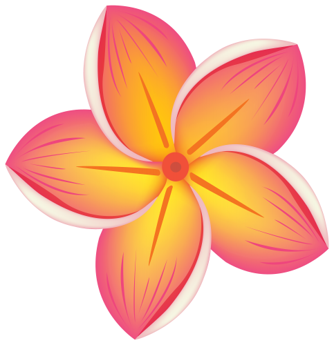 Flowers Decorative Element PNG Image.